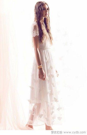 显白瘦美的裙子