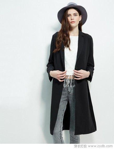 显脸小更上镜,西装领最强春装混搭单品标志性